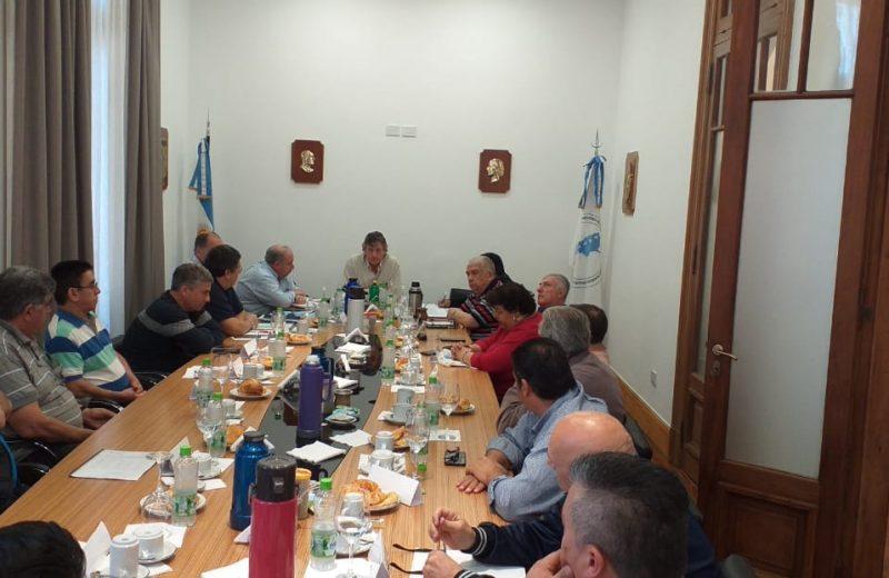Se reunió el Consejo Directivo Nacional ampliada con todos los secretarios generales