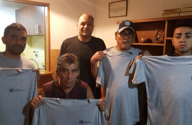 Compañeros del Sindicato Gráfico Platense visitaron talleres