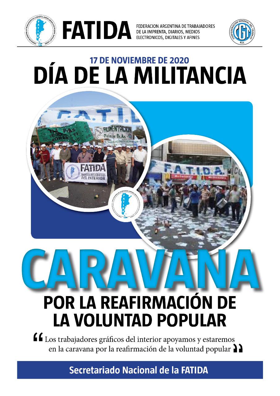 Caravana por el Día de la Militancia