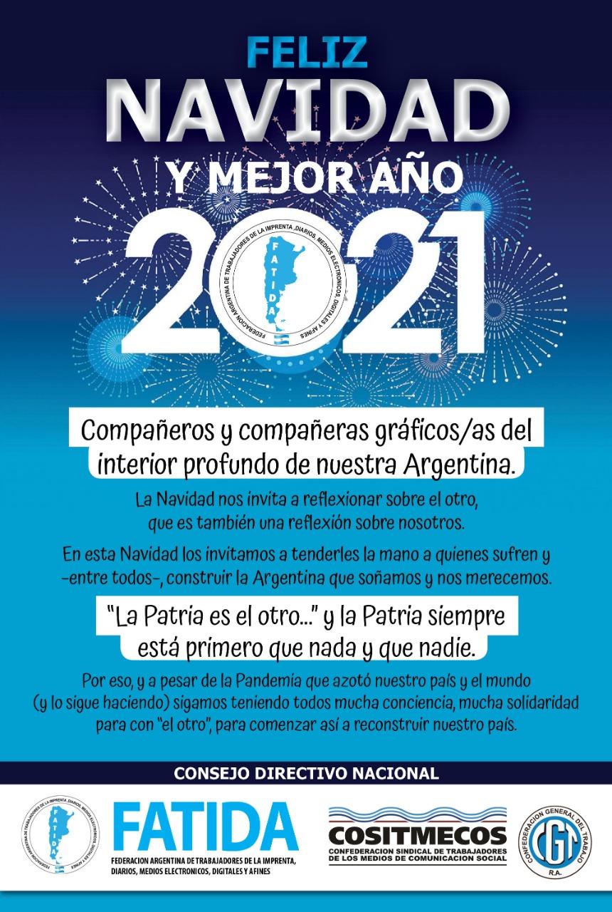 Feliz Navidad y Mejor 2021