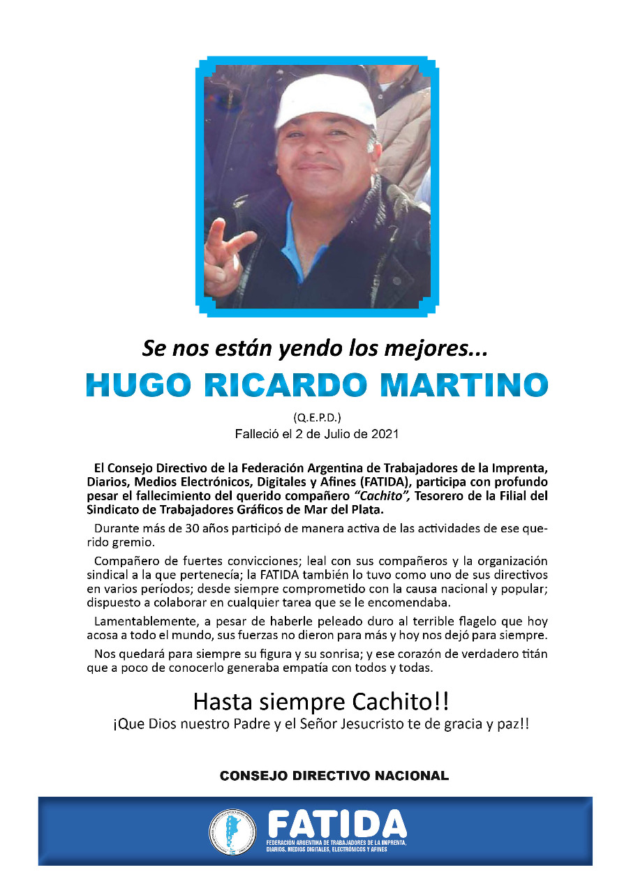 ¡Hasta siempre Cachito!