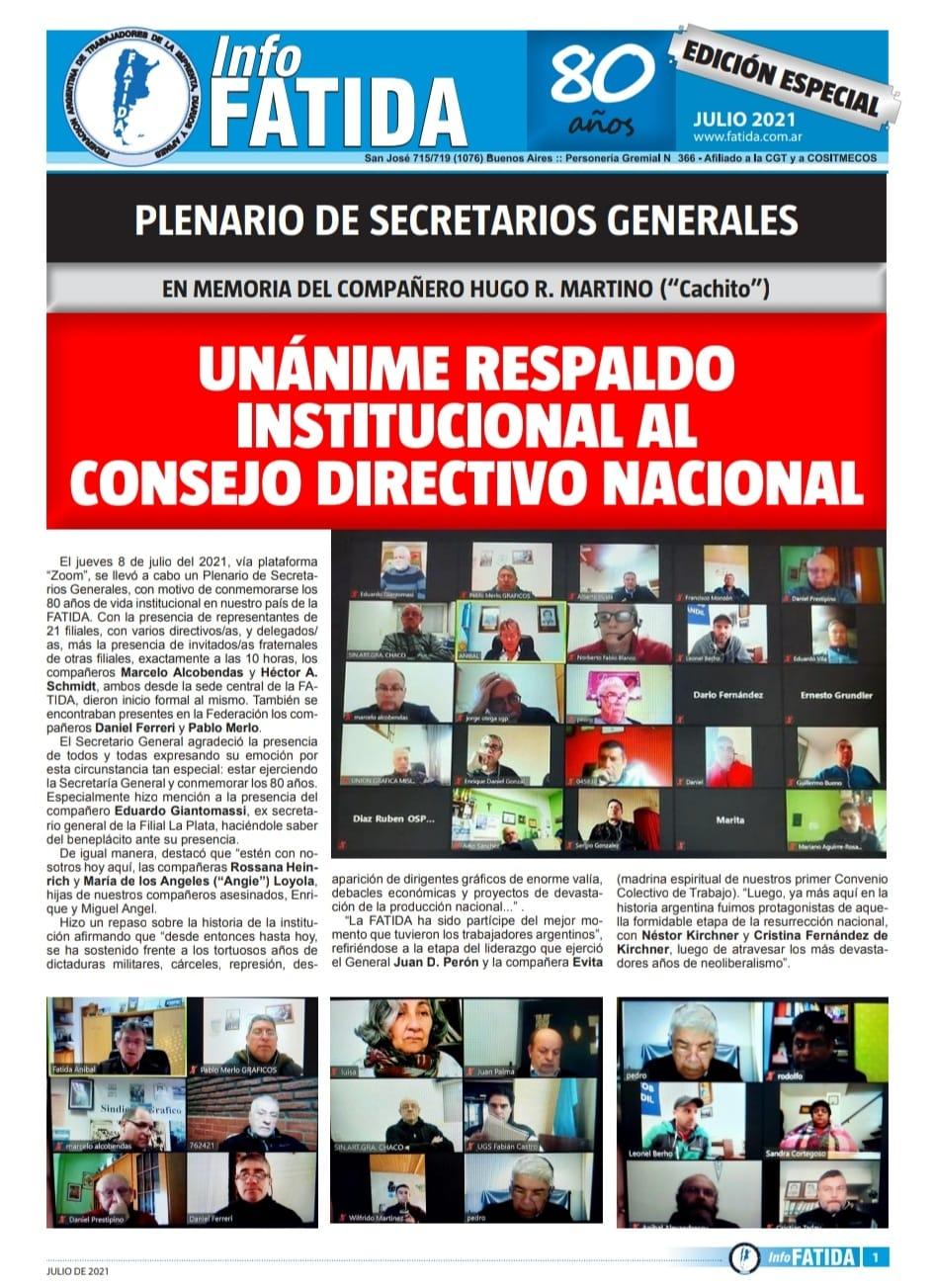 InfoFATIDA edición especial 80 años